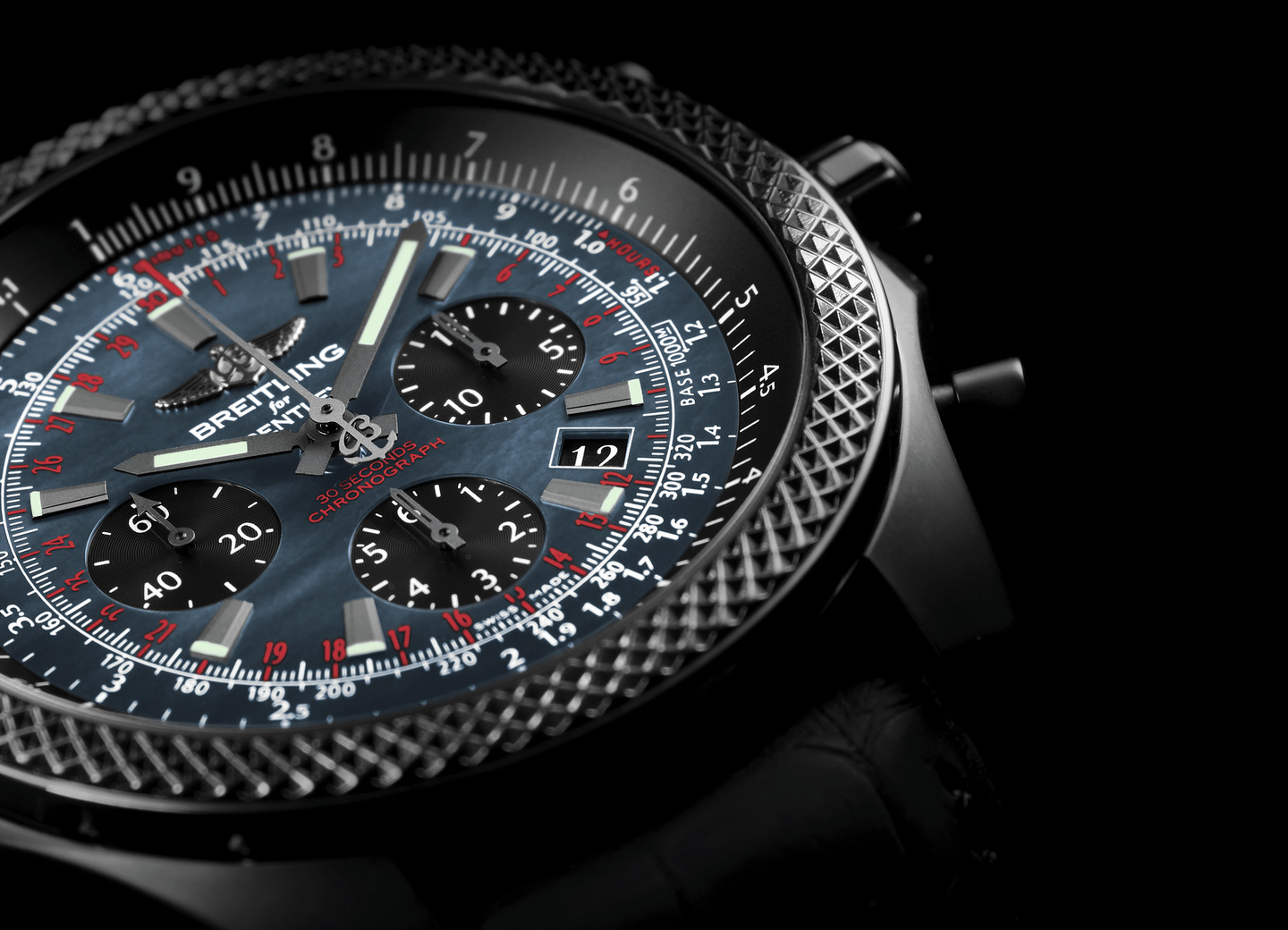 The Best Breitling for Bentley B06 Midnight Carbon