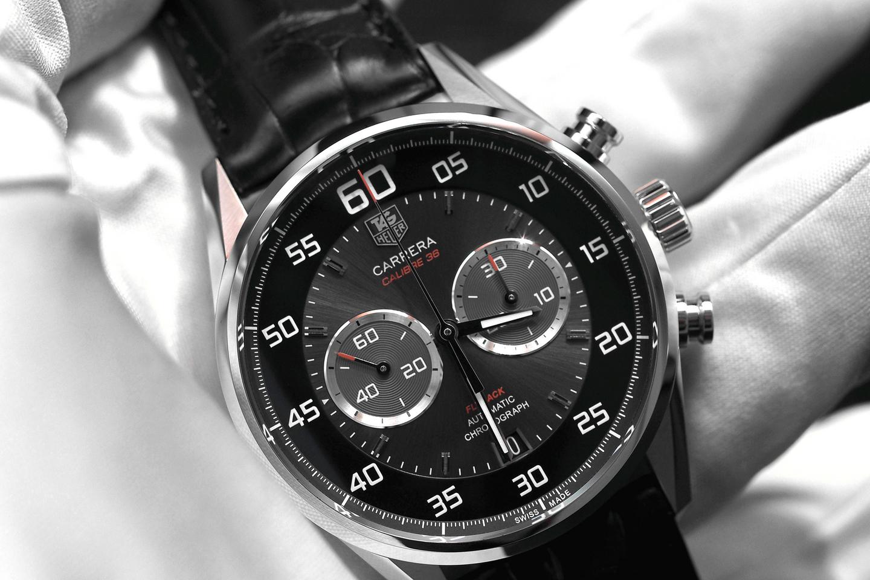 Описание товара точная копия швейцарских часов tag heuer grand carrera calibre 36 краткое описание: часы, минуты, секунды, дата, 24 часа, хронограф размер: 42 мм.