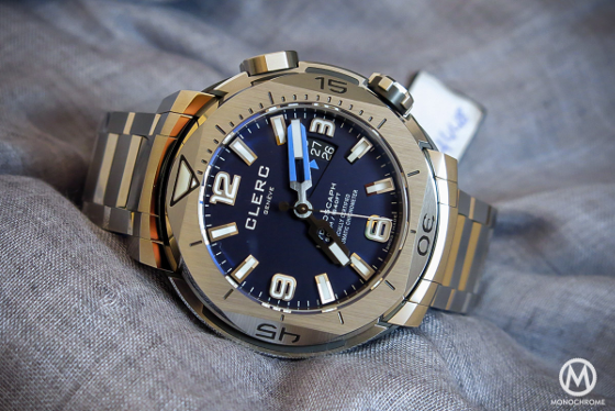 Watch Reviewing : The Clerc Hydroscaph