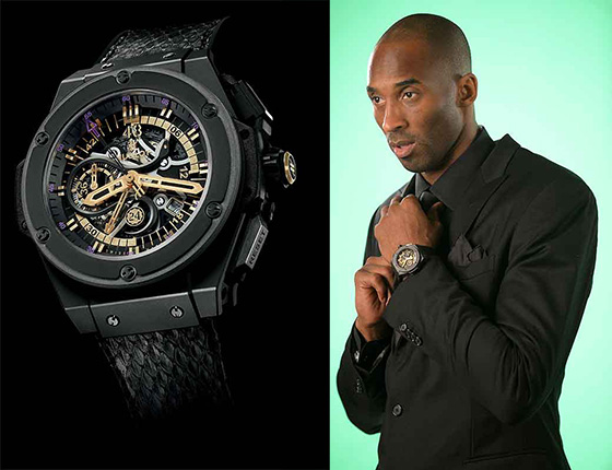 Celebrity-Branded Sports Watches