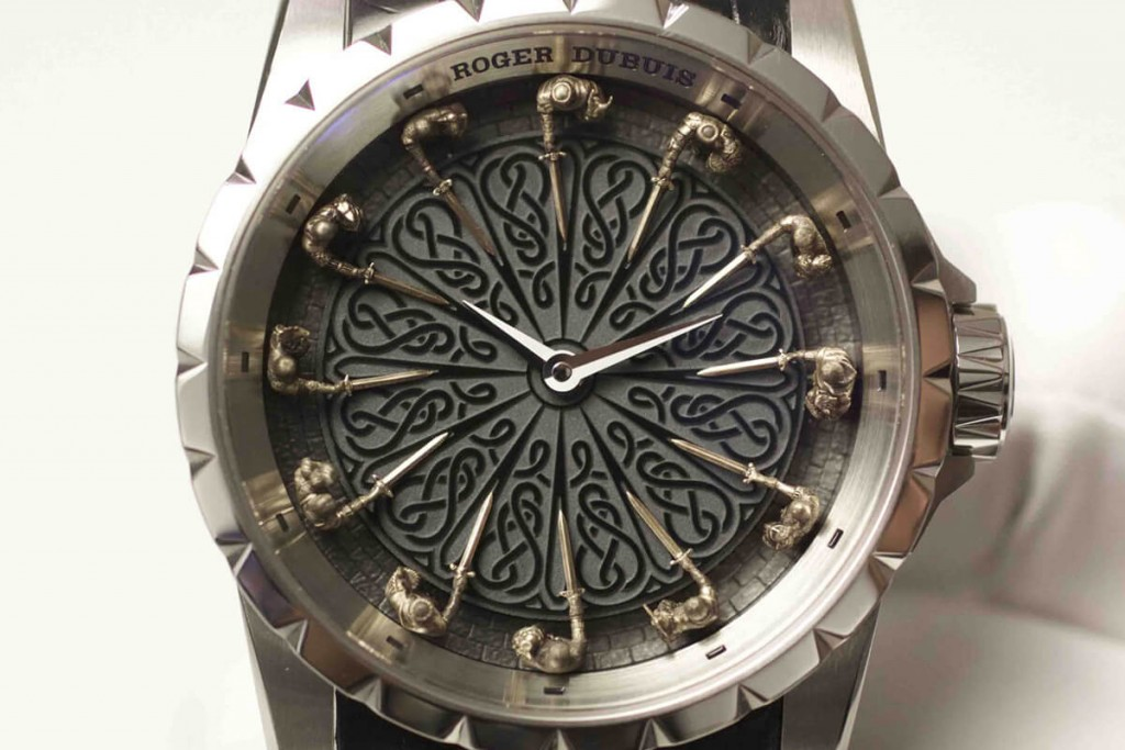 Roger dubuis excalibur introduced its latest version of - Roger dubuis knights of the round table watch ...