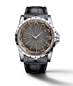 Roger dubuis excalibur introduced its latest version of for 12 knights of the round table and their characteristics
