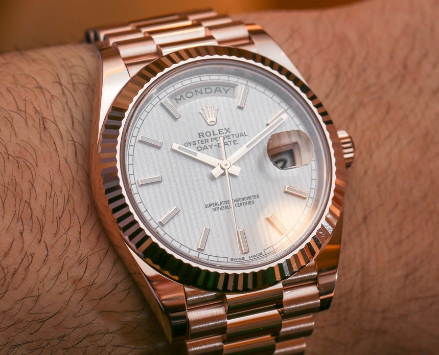 A Famous Gold Watch:Rolex Day-Date