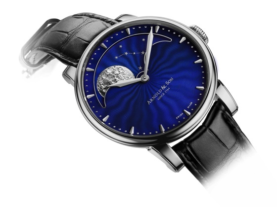 Arnold & Son HM Permanent Moon Glyph Watch