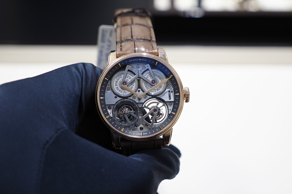 Hands-On Watch: Arnold & Son Constant Force Tourbillon