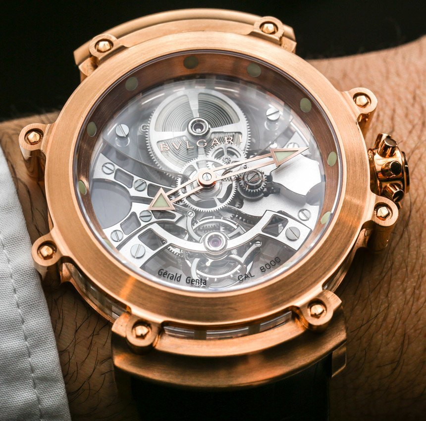 Bulgari Tourbillon Saphir