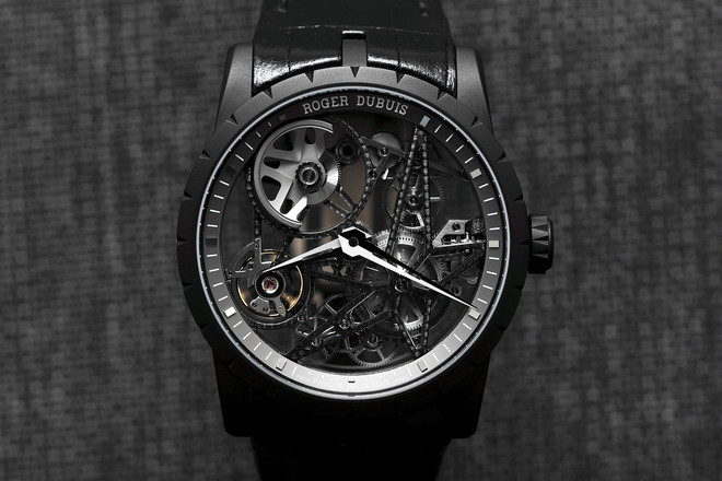 Roger dubuis excalibur automatic skeleton hands on watch - Knights of the round table watch price ...
