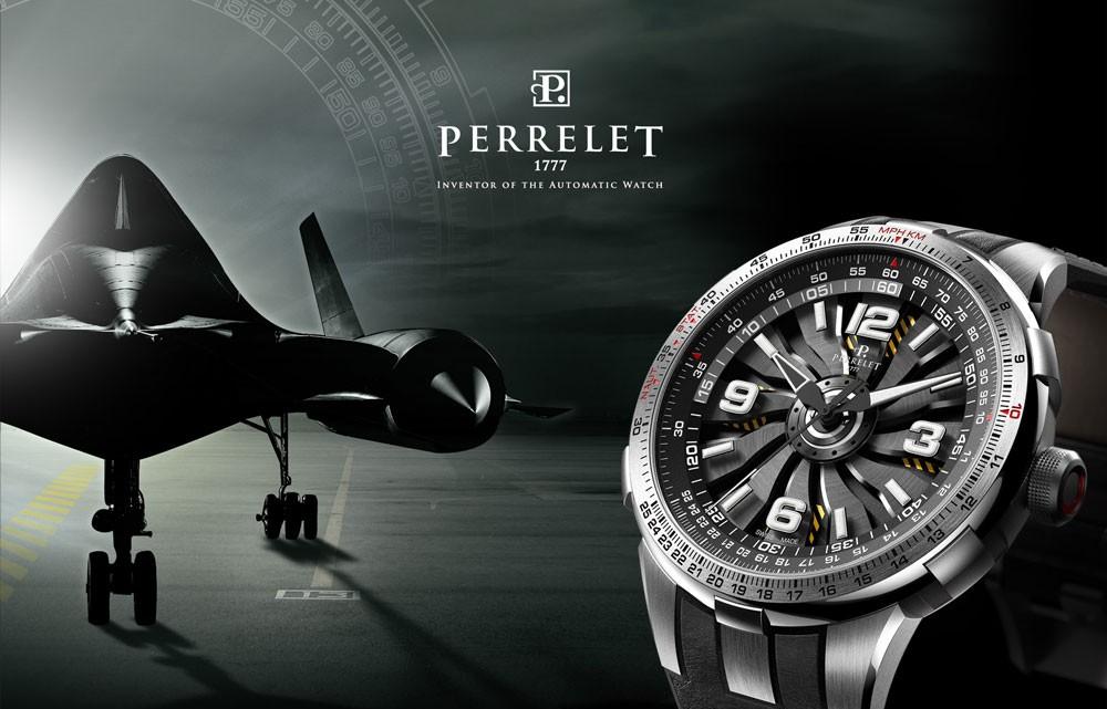 Perrelet's Piloting Ambition: The Turbine Pilot