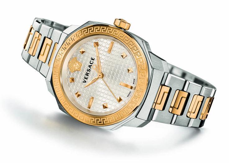 Versace Dylos Chrono & Lady Watch