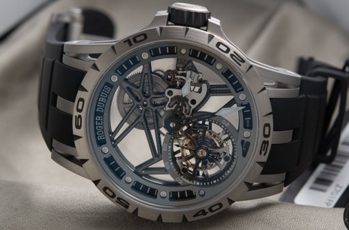 Roger Dubuis Excalibur Spider Skeleton Flying Tourbillon
