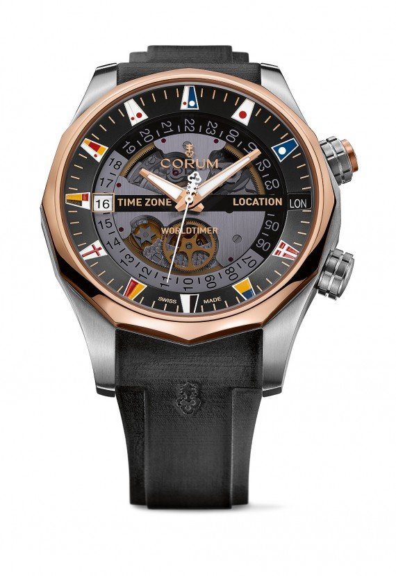 Corum Admirals Cup Collection Expands with Legend 47 Worldtimer