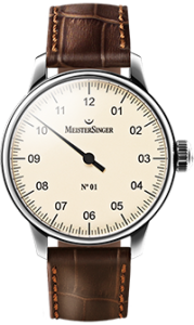 MeisterSinger watch is the most suitable for people to relax method