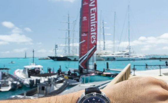 Omega ETNZ Seamaster Professional GMT chronometer