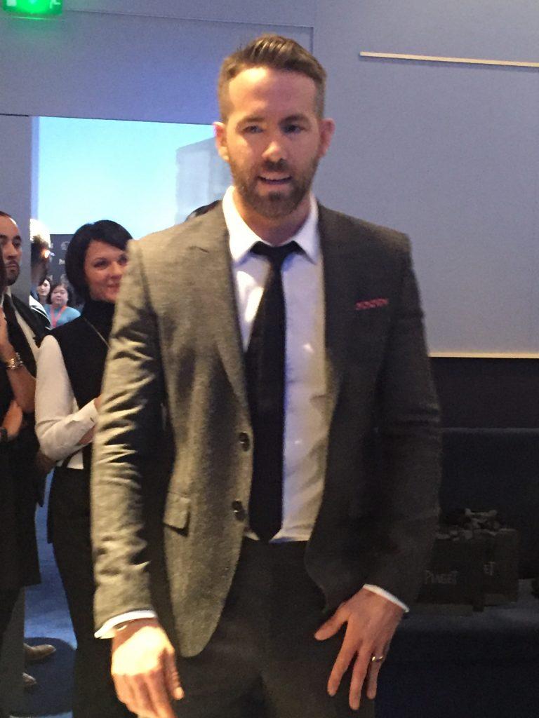 Ryan Reynolds at Piaget SIHH 2017