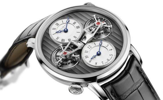 Arnold & Son DTE Double Tourbillon Escapement Dual Time Watch For 2015 Watch Releases