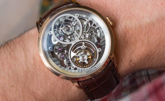 Arnold & Son UTTE Skeleton Watch Hands-On Hands-On