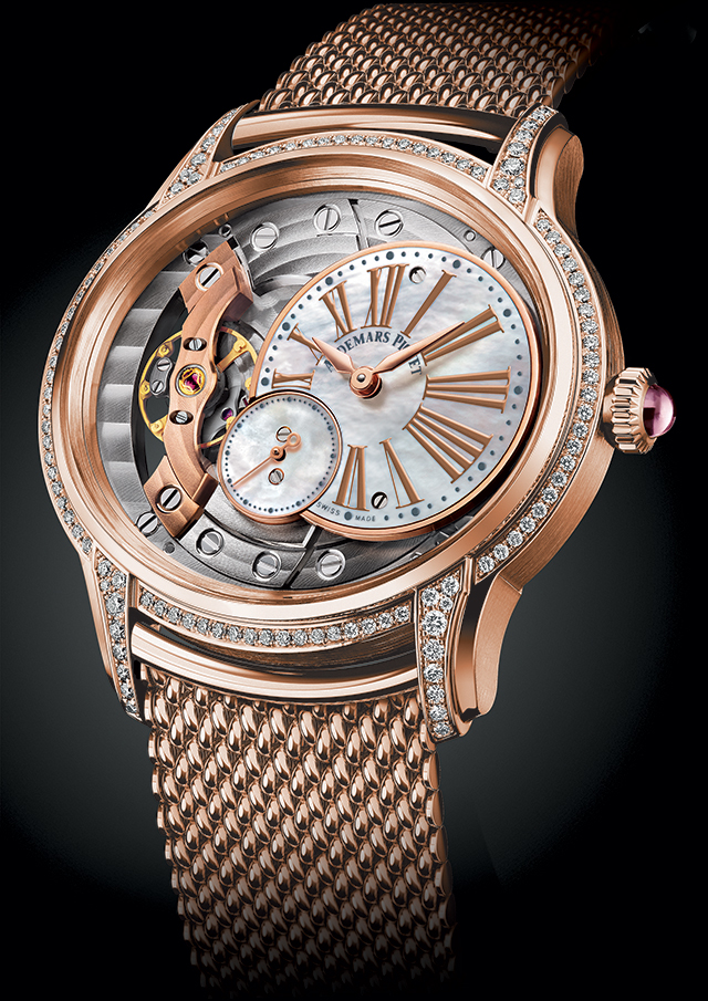 New Audemars Piguet Vintage Dress Watch Millenary Ladies' Watches For 2018 Watch Releases