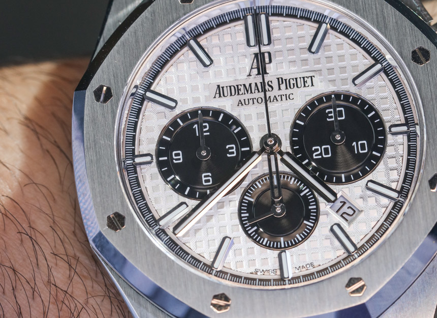 Audemars Piguet Royal Oak Chronograph Watch In Steel Hands-On Hands-On