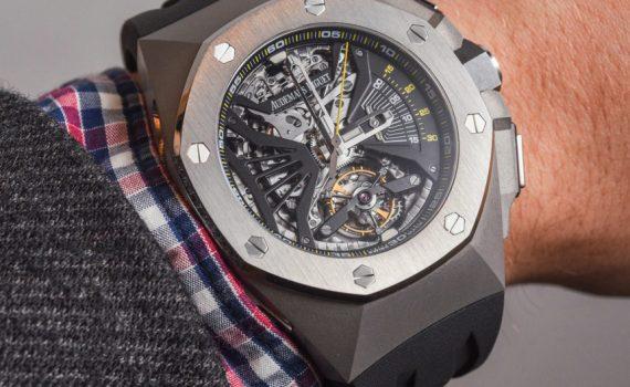 Audemars Piguet Royal Oak Concept Supersonnerie Tourbillon Chronograph Watch Hands-On Hands-On