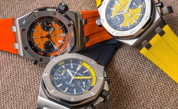 Audemars Piguet Royal Oak Offshore Diver Chronograph Watches Hands-On Hands-On