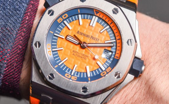 Audemars Piguet Royal Oak Offshore Diver 'Funky Colour Edition' Watches For 2017 Hands-On Hands-On