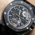 Audemars Piguet Royal Oak Offshore Selfwinding Tourbillon Chronograph Watch Hands-On Hands-On