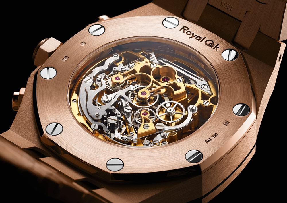 Audemars Piguet Royal Oak Tourbillon Chronograph Openworked Material Good Watch Watch Releases
