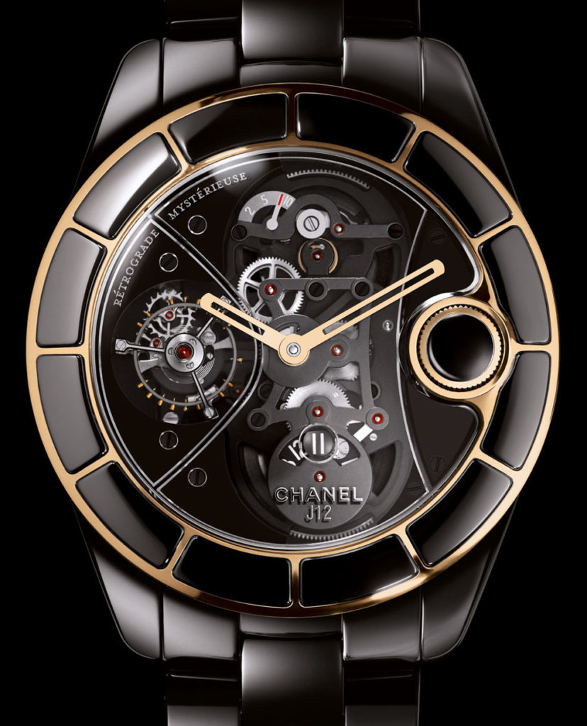 Recalling A Modern Exotic: Chanel J12 Rétrograde Mystérieuse Tourbillon Watch Feature Articles