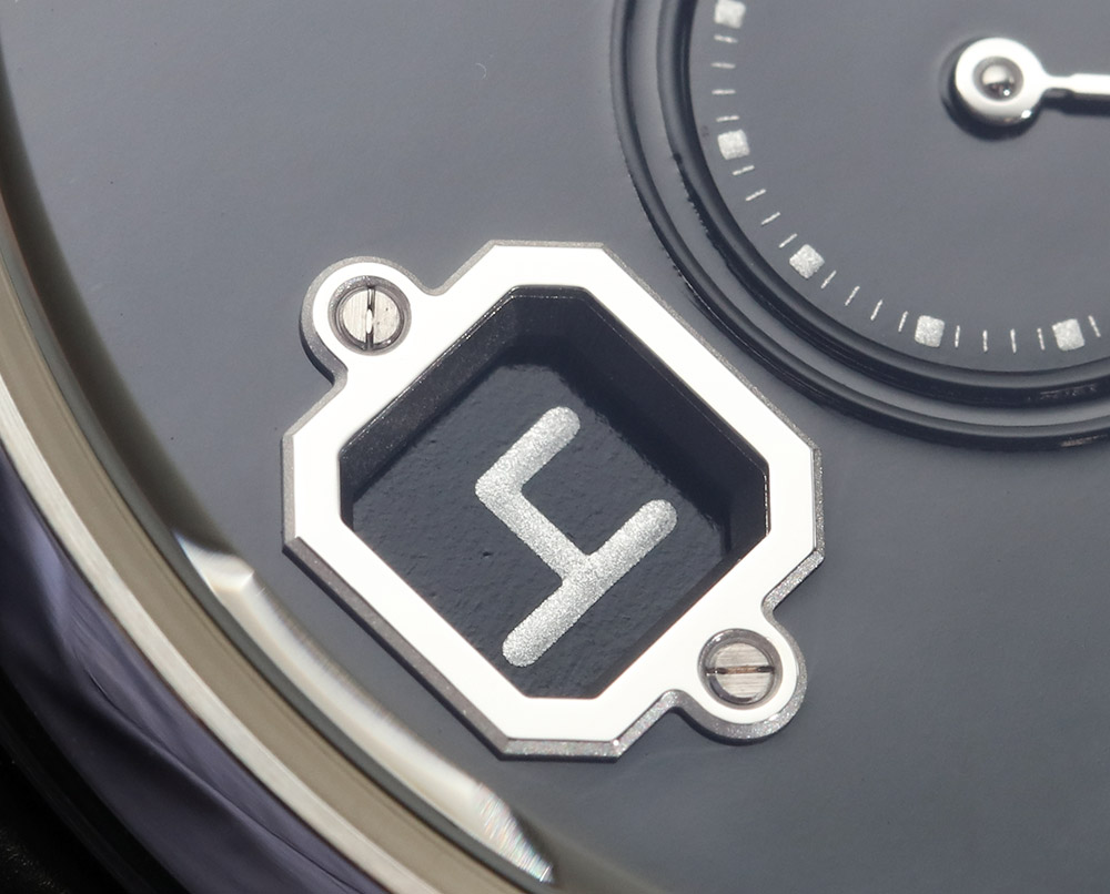 Chanel Monsieur De Chanel Watches And Fine Jewellery Boutique Watch In Platinum With Black Enamel Dial Hands-On Hands-On