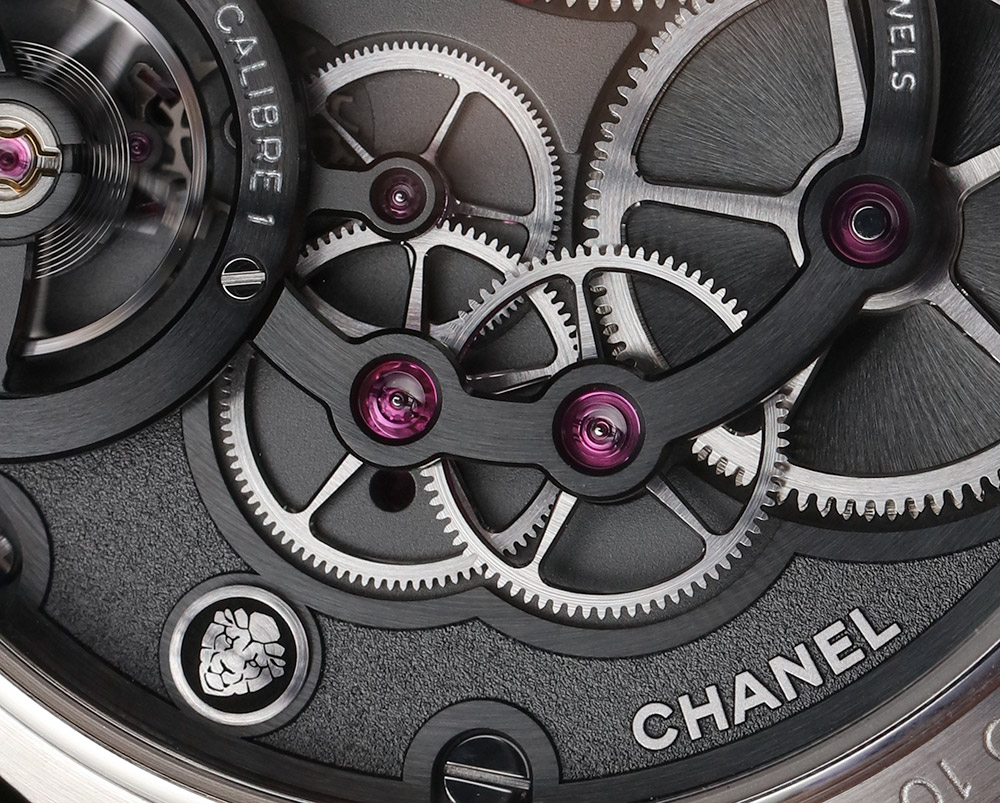 Chanel Monsieur De Chanel Watch Triple Row Watch In Platinum With Black Enamel Dial Hands-On Hands-On