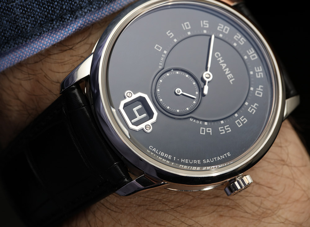 Chanel Monsieur De Chanel Watch In Platinum With Black Enamel Dial Hands-On Hands-On