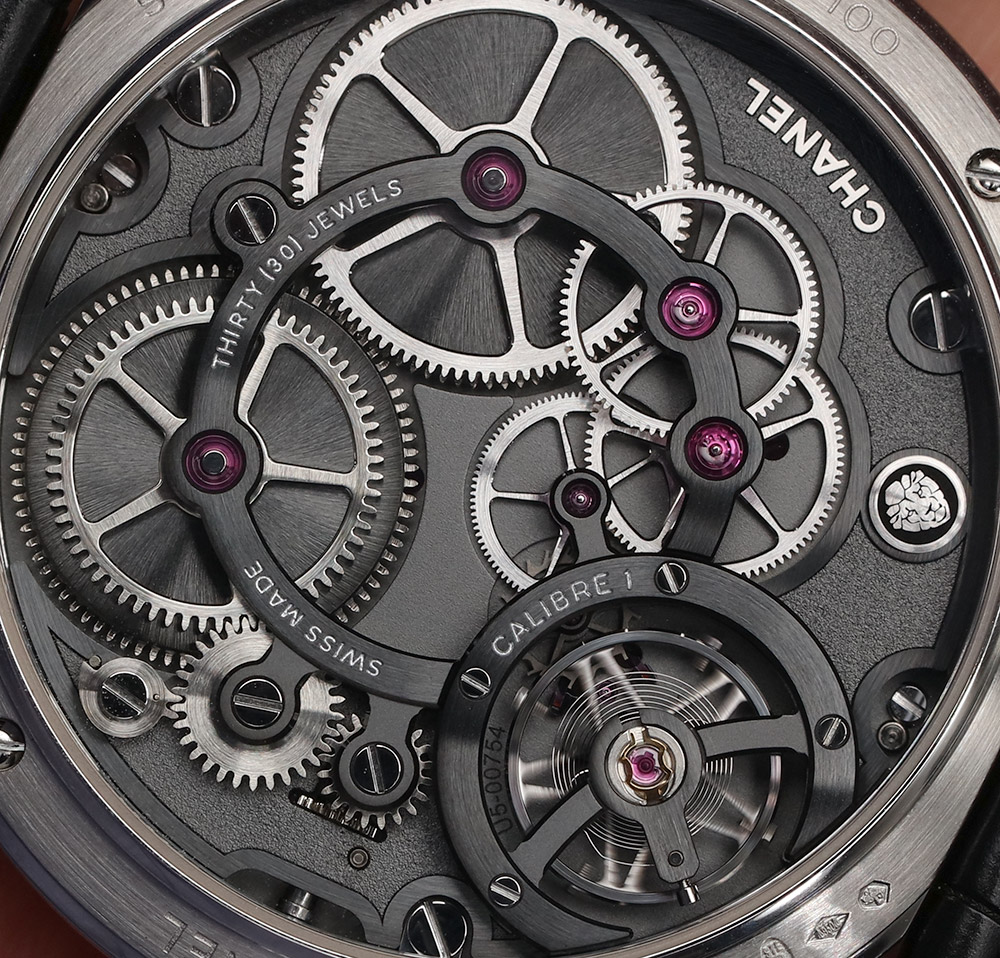 Chanel Monsieur De Chanel Quartz Watch White Watch In Platinum With Black Enamel Dial Hands-On Hands-On
