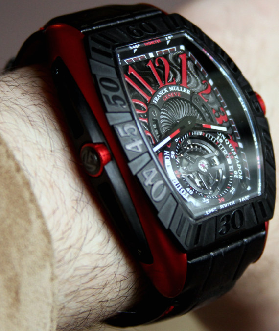 Franck Muller Conquistador Grand Prix Tourbillon Watch Watch Releases