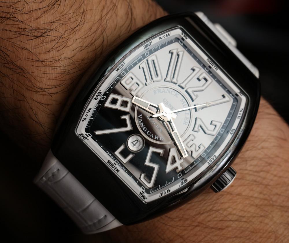 Franck Muller Vanguard Glacier Watch Hands-On Hands-On