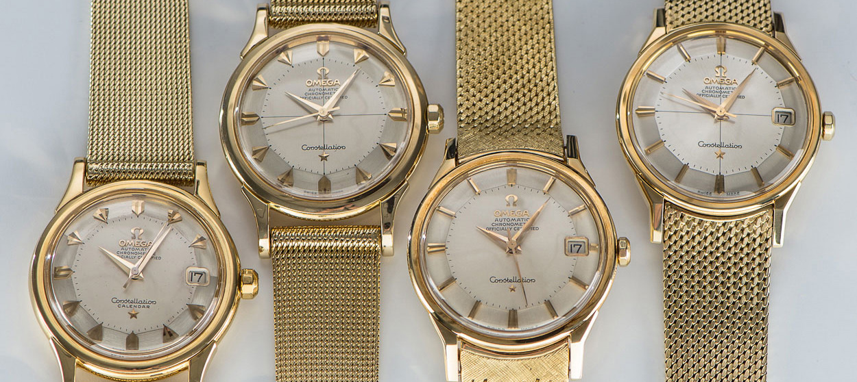 Omega-Vintage-Costellation-Watches