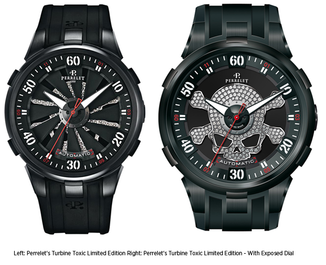 Reviewing Perrelet Turbine Toxic Special Edition