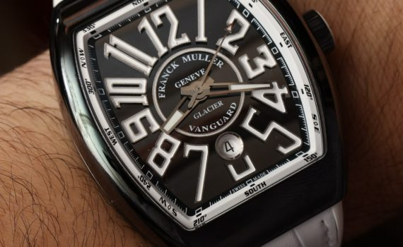 Franck Muller Vanguard Glacier Watch Hands-On Hands-On